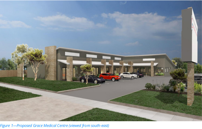 DA - Bargara Road Doctor's Surgery Concept